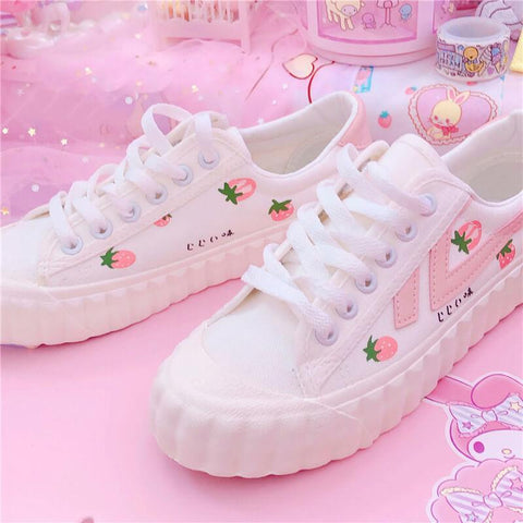 Sweet Strawberry Shoes K14533