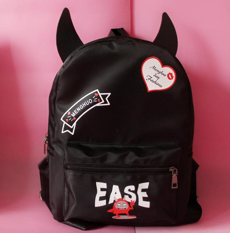 Japanese Harajuku Devil Backpack K12797