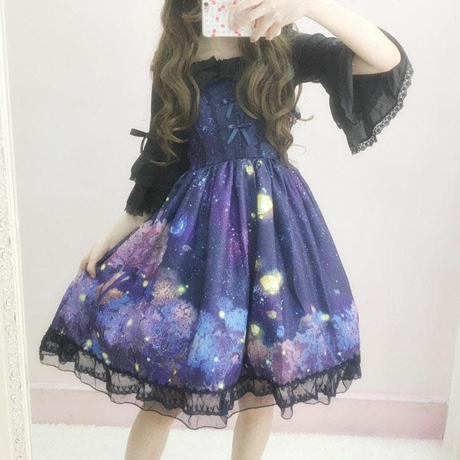Japanese Harajuku Elegant Lolita Dress KW1711234