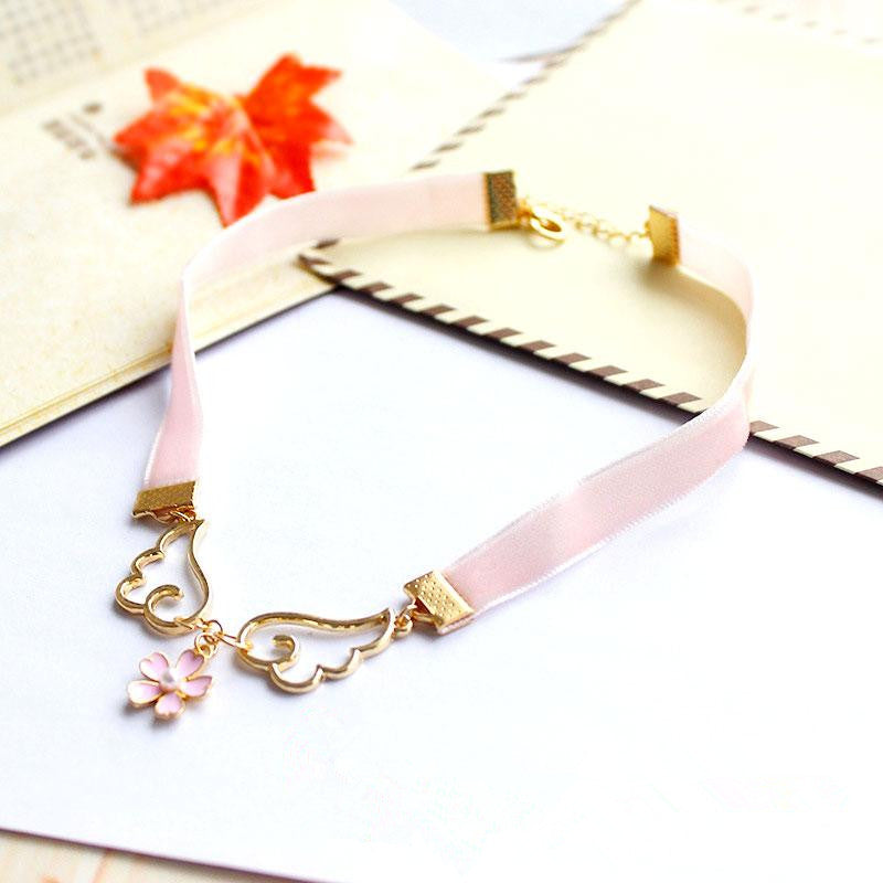 Japanese Kawaii Wings Star Necklaces