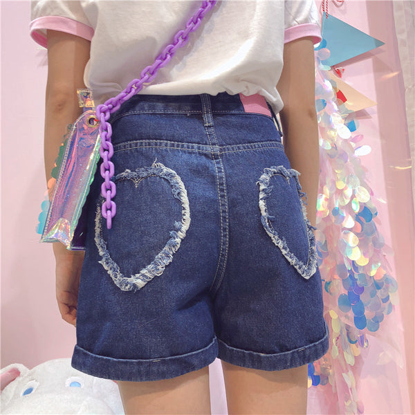 Cute Denim Shorts K13923