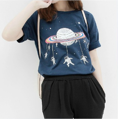 Cosmic Galaxy T-shirt KW1710310 - kawaiimoristore
