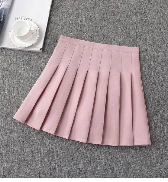 Student Tennis Pleated Skirt KW178954