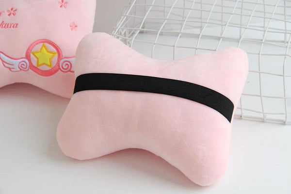 Kawaii Cardcaptor Sakura Car Pillow/Shoulder Pad K13347
