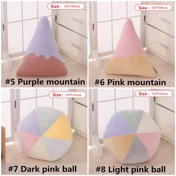Kawaii Rainbow Star Moon Pillow Cushion K13181
