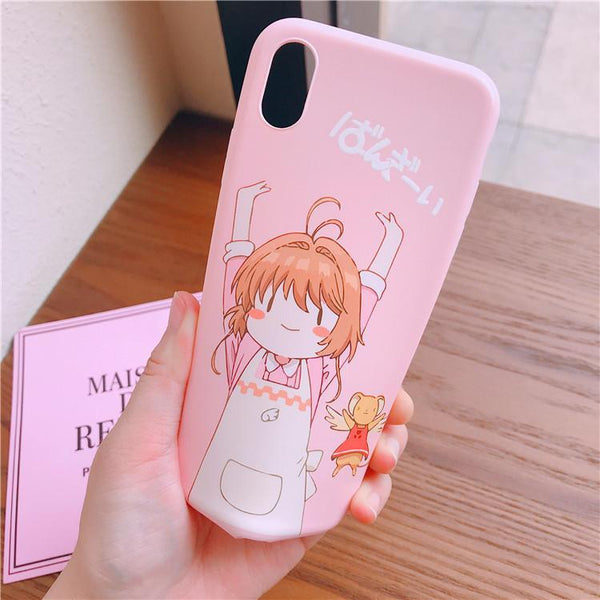 Kawaii Cardcaptors Sakura Phone Case K13061