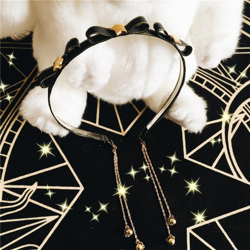 Kawaii Stars Bow Headband KW1811990