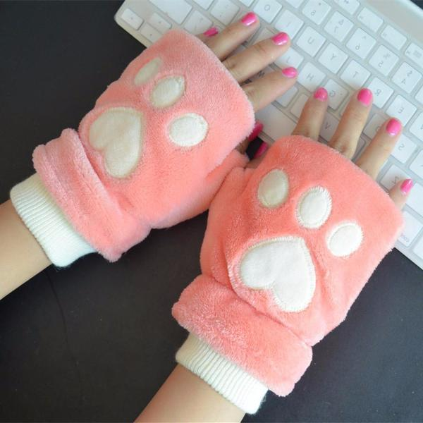 Kawaii Cat's Paw Gloves KW1711525