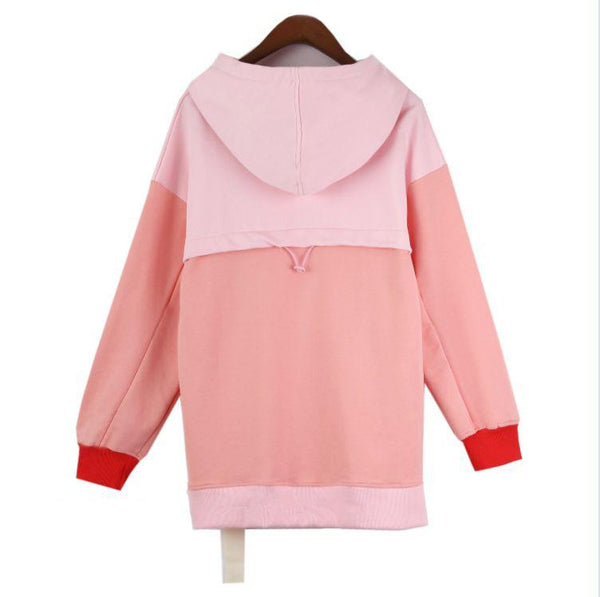 Korean K-Drama STRONG WOMAN PARK BO-YOUNG Pink Hoodie Sweater KW1711543
