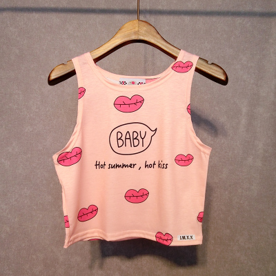 Harajuku Fashion Vest T-shirt