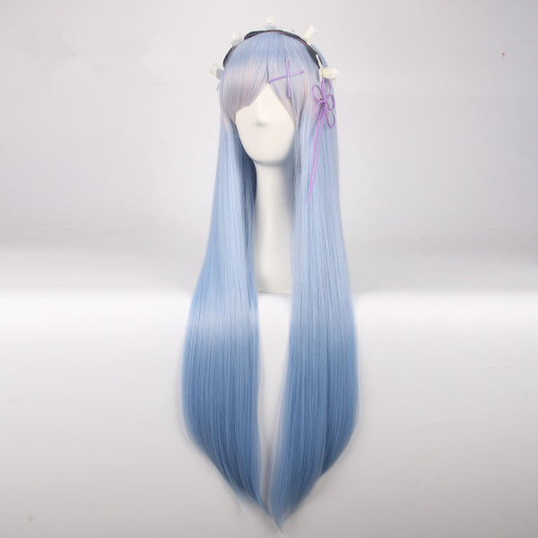 Life In A Different World From Zero Rem/Ram Long Wig KW1711038