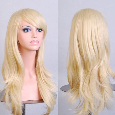Light Blonde Long Wig