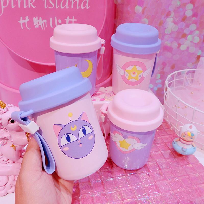 Kawaii Cardcaptor Sailor Moon Stainless Steel Cups K13050