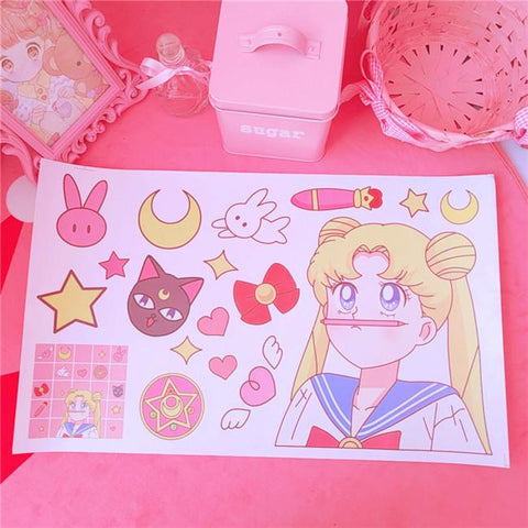 Lovely Sailor Moon Usagi Stickers