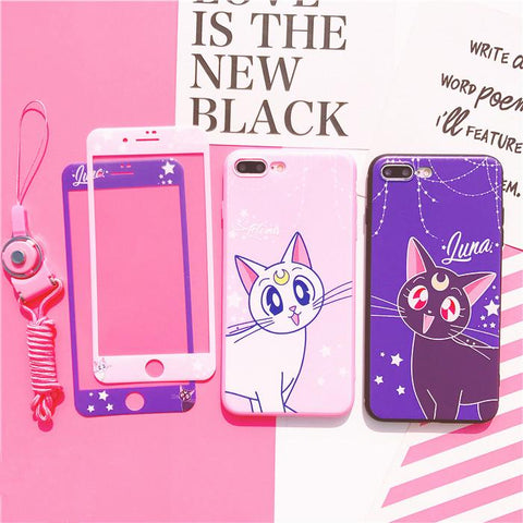 Sailor Moon Luna/Artemis Phone Case