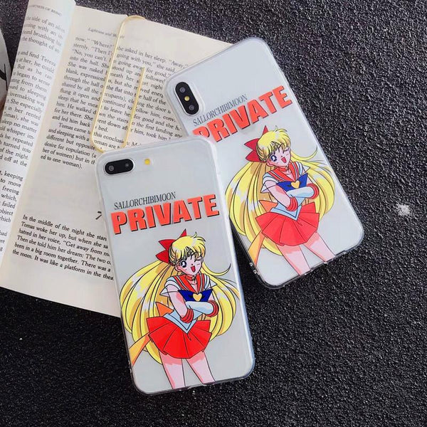 Sailor Moon Private IPhone Case