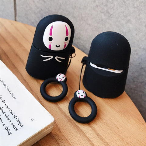 Kawaii No Face Man AirPods Case K14475