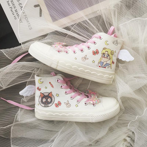 Sailor Moon Wings Canvas Shoes K14370