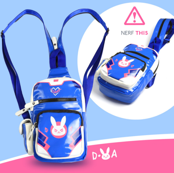 Overwatch D.VA Anime Printing Backpack