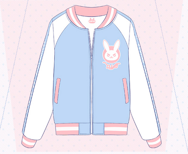 Overwatch D.VA Baseball Jacket KW168551