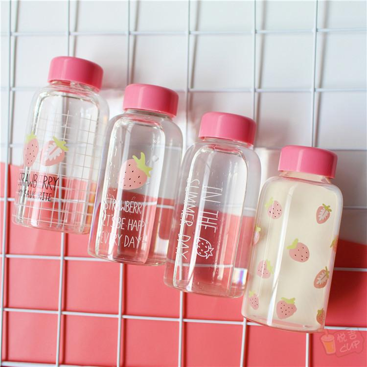 Pink Strawberry Drink Bottle  KW1811852