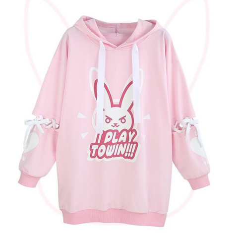 Pre-order Overwatch D.VA DVA I Play To Win Sweater KW1811621