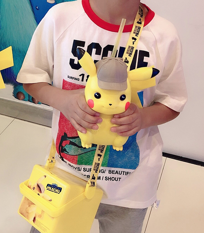 Kawaii Pikachu Water Bottle K14216