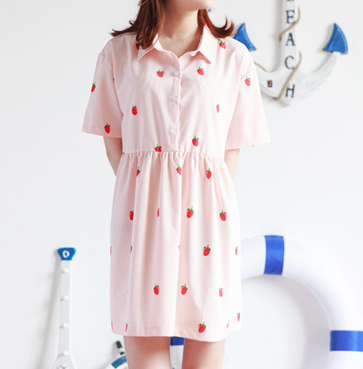 Strawberry Dress KW166876