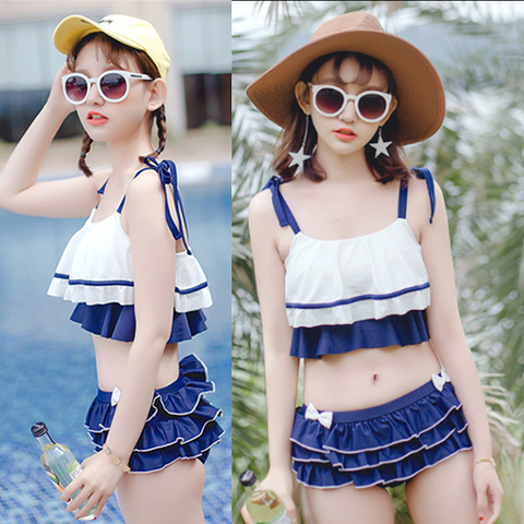 Red/Blue Bowknot Bikini Set KW1710169