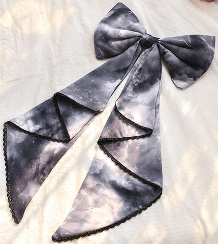 [Reservation] 3 Colors Shipping at Night Lolita Bowknot