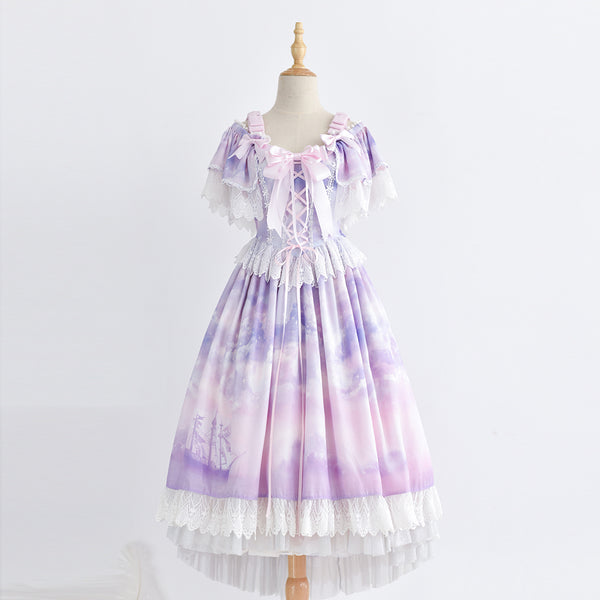 [Reservation] 3 Colors Shipping at Night Lolita JSK Dress