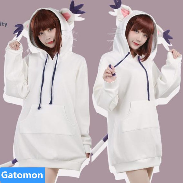 [Reservation] Digimon Character Cosplay Hoodie Coat K13327