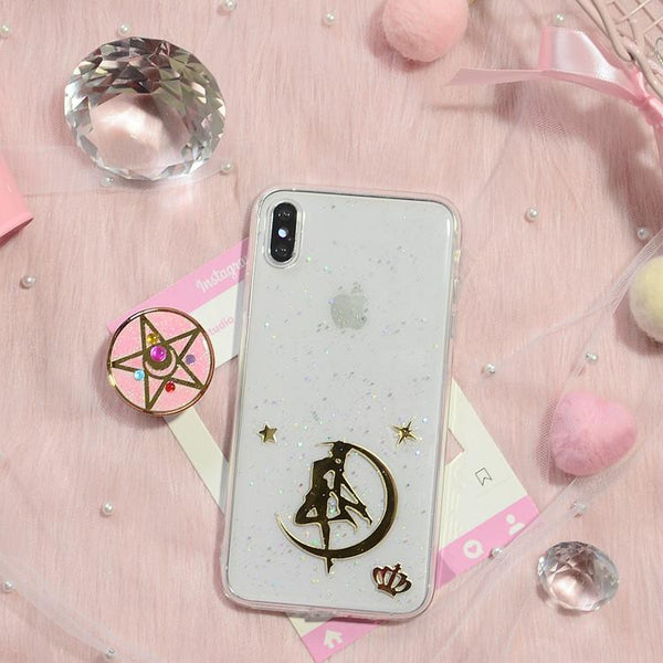 Custom Made Sailor Moon Paillette Phone Case K13521