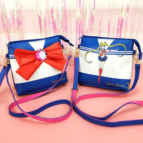 Sailor Moon Usagi Bow Cross Body Bag K13492