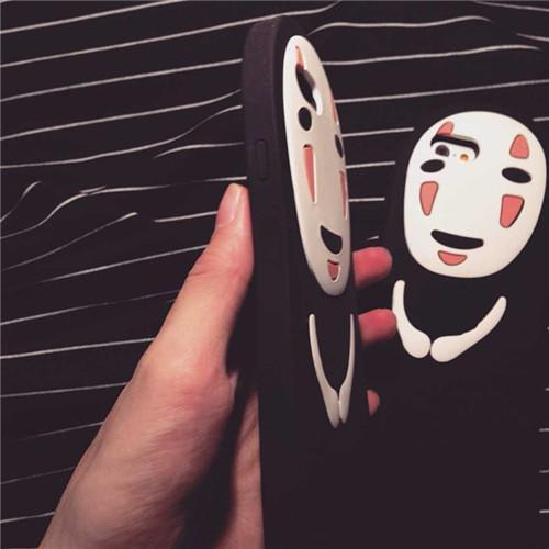 [Spirited Away] Chibi No Face Phone Case KW165521