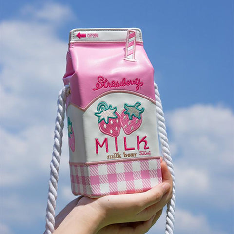 Strawberry Milk Bag