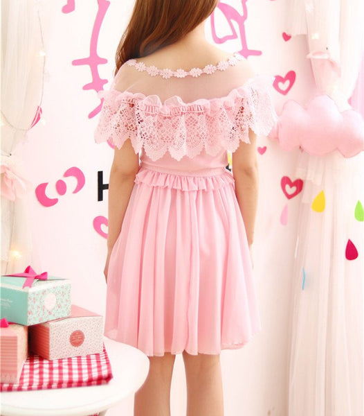 Sweet Chiffon Dress KW179803