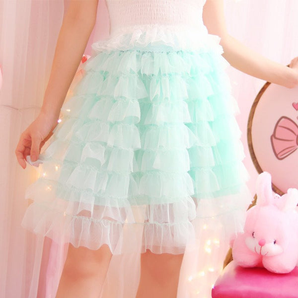 Sweet Princess Gauze Skirt