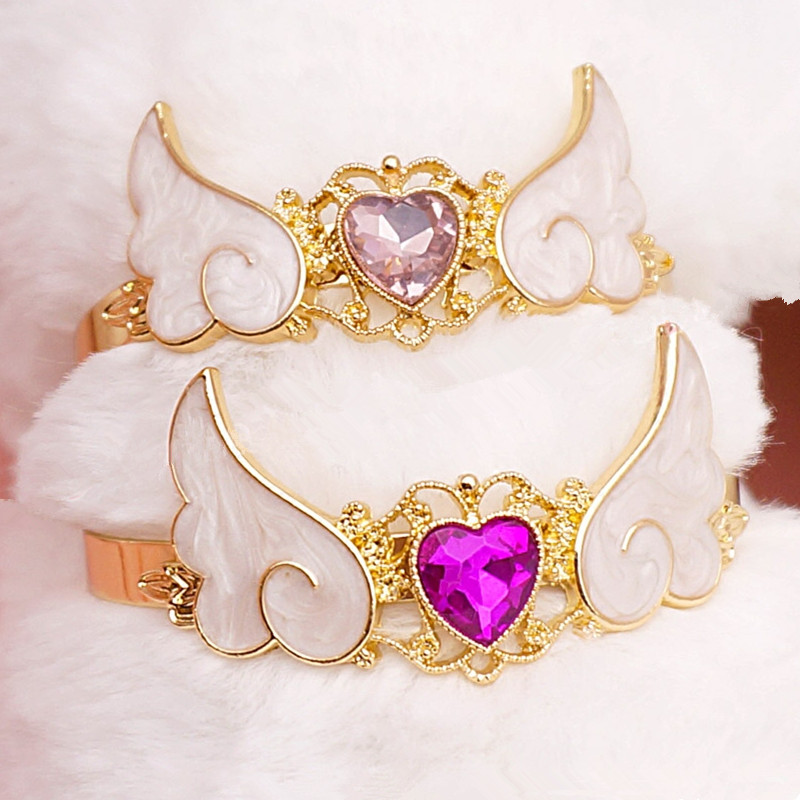 Magic Heart Wings Bracelet KW179024 - kawaiimoristore