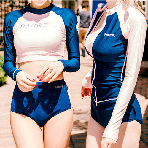 Korean Summer Long-sleeve fashion Swimsuit (swim suit)