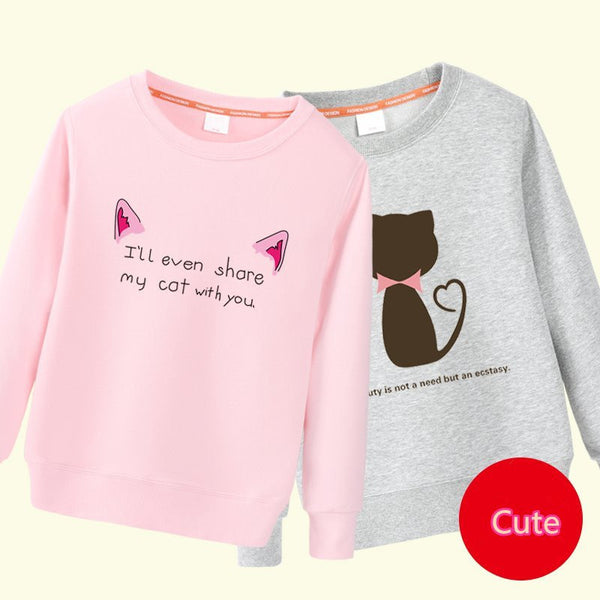 Cute Cartoon Sweatshirt