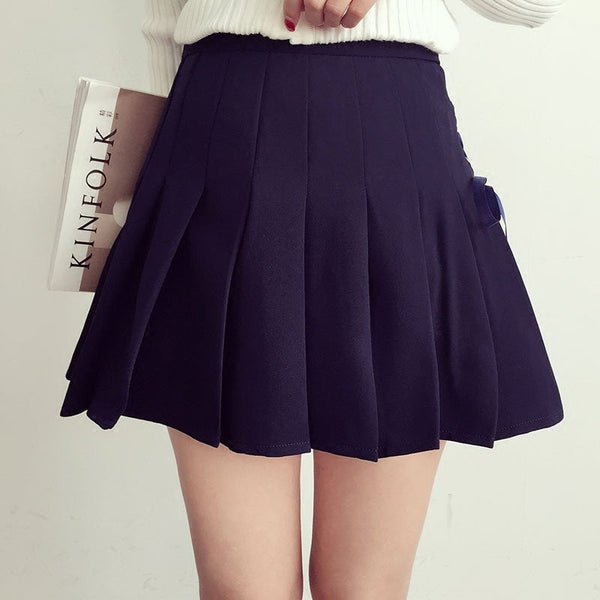Sweet Pleated Skirts KW179058