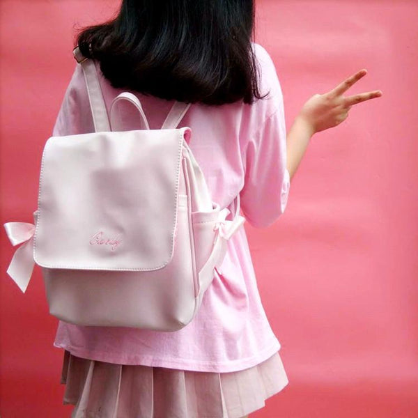 Pink/Black/White Candy Backpack