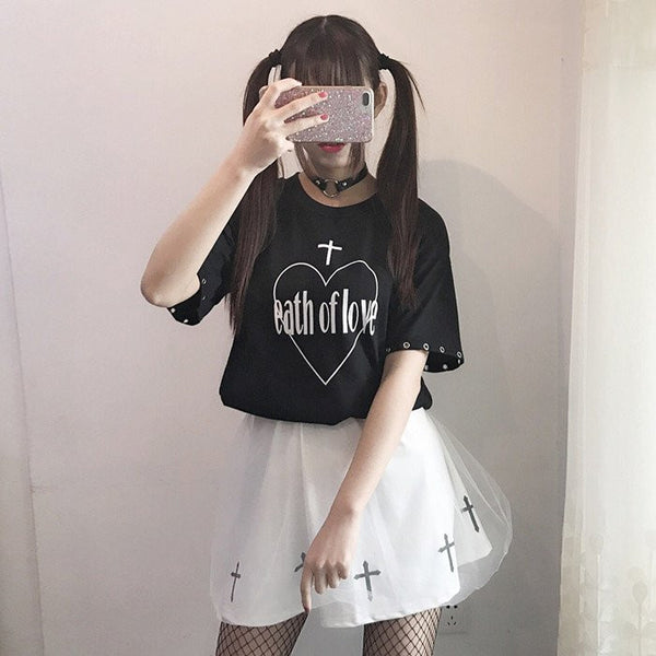 Japanese Students T-shirts/skirt KW179649