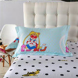 Sailor Moon Kawaii Cartoon Bed Sheet Four Pieces
