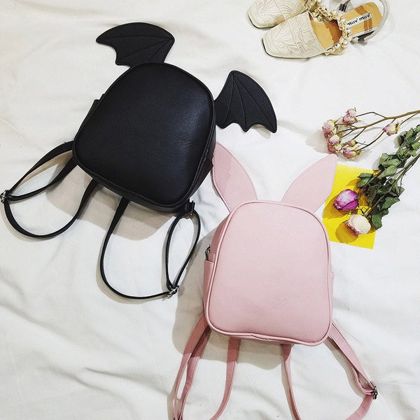 Kawaii Cartoon Ear Backpack KW179728
