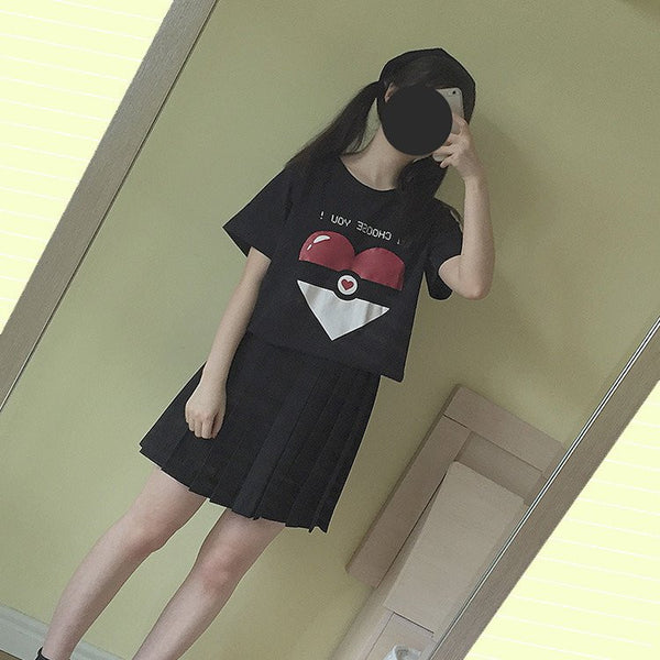 Pokemon I Choose You T-shirt KW179545