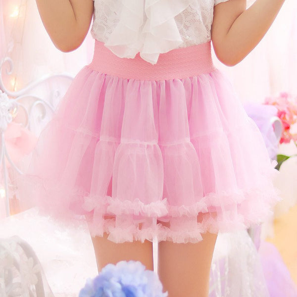 Sweet Princess Lace Tutu Skirt KW1710446
