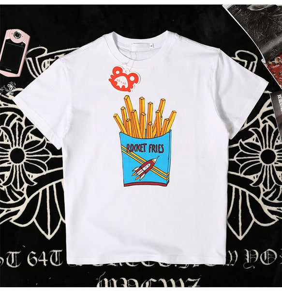 Kawaii French Fries/ice Cream T-shirt