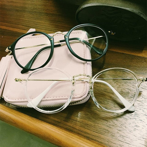 Harajuku Vintage Transparent Glasses KW179821